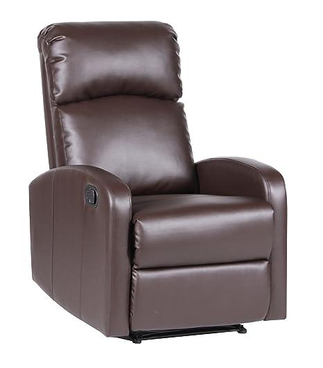 """Poltrona relax, estremamente comoda, interamente in PU anti-rottura con sistema """"Parete Zero"""""""