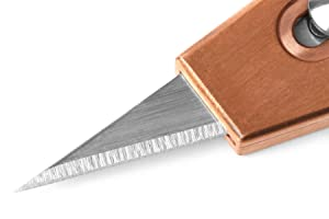 Massdrop x Ferrum Forge RUK Retracting Utility Knife (Copper + Lanyard Bead) (Color: Copper RUK + Lanyard Bead)