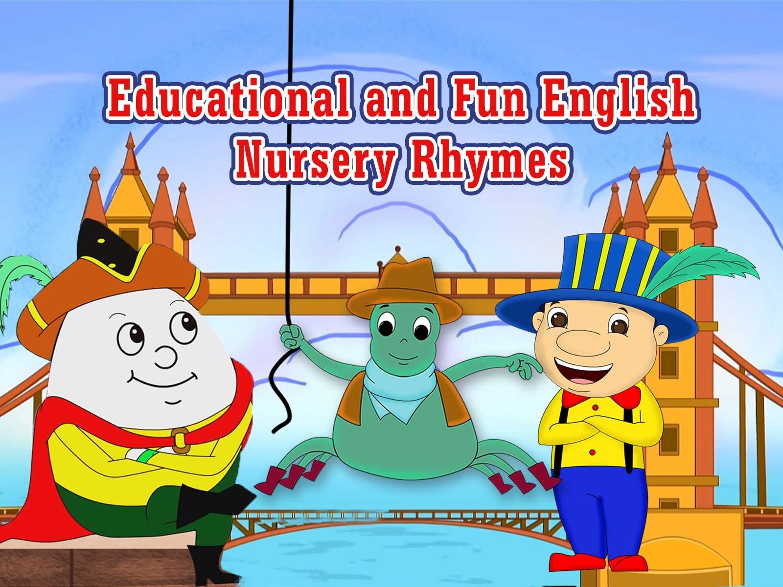 Educational and Fun English Nursery Rhymes - Season 1