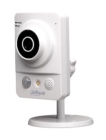 Dahua HD 720p 1.0MP Wireless P2P Cube Network IP CCTV Camera with Memory Card Slot Recording at amazon