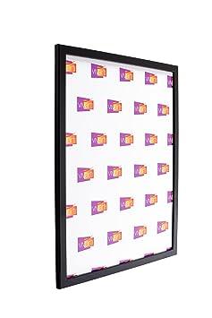 cadre photo fin fin couleur noir mat 30 x 30 cm cuisine maison m213. Black Bedroom Furniture Sets. Home Design Ideas