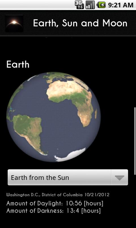 earth-sun and moon-#41