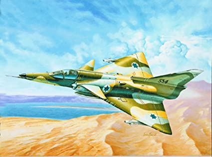 Italeri - I163 - Maquette - Aviation - Kfir C-7 - Echelle 1:72