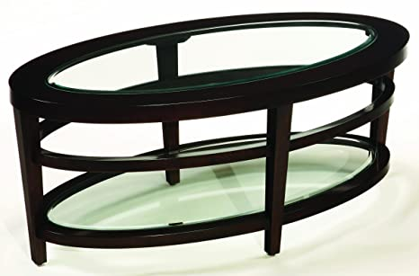 Hammary Furniture Urban Flair Oval Coffee Table