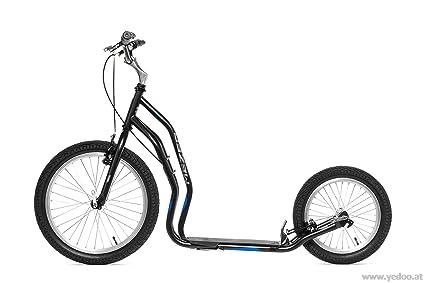 Trottinette Yedoo Mezeq V-brake noire & bleue