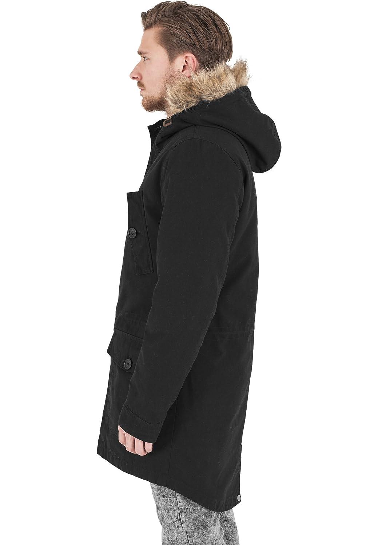 URBAN CLASSICS Baumwolle Parka TB1160 lange Jacke günstig bestellen