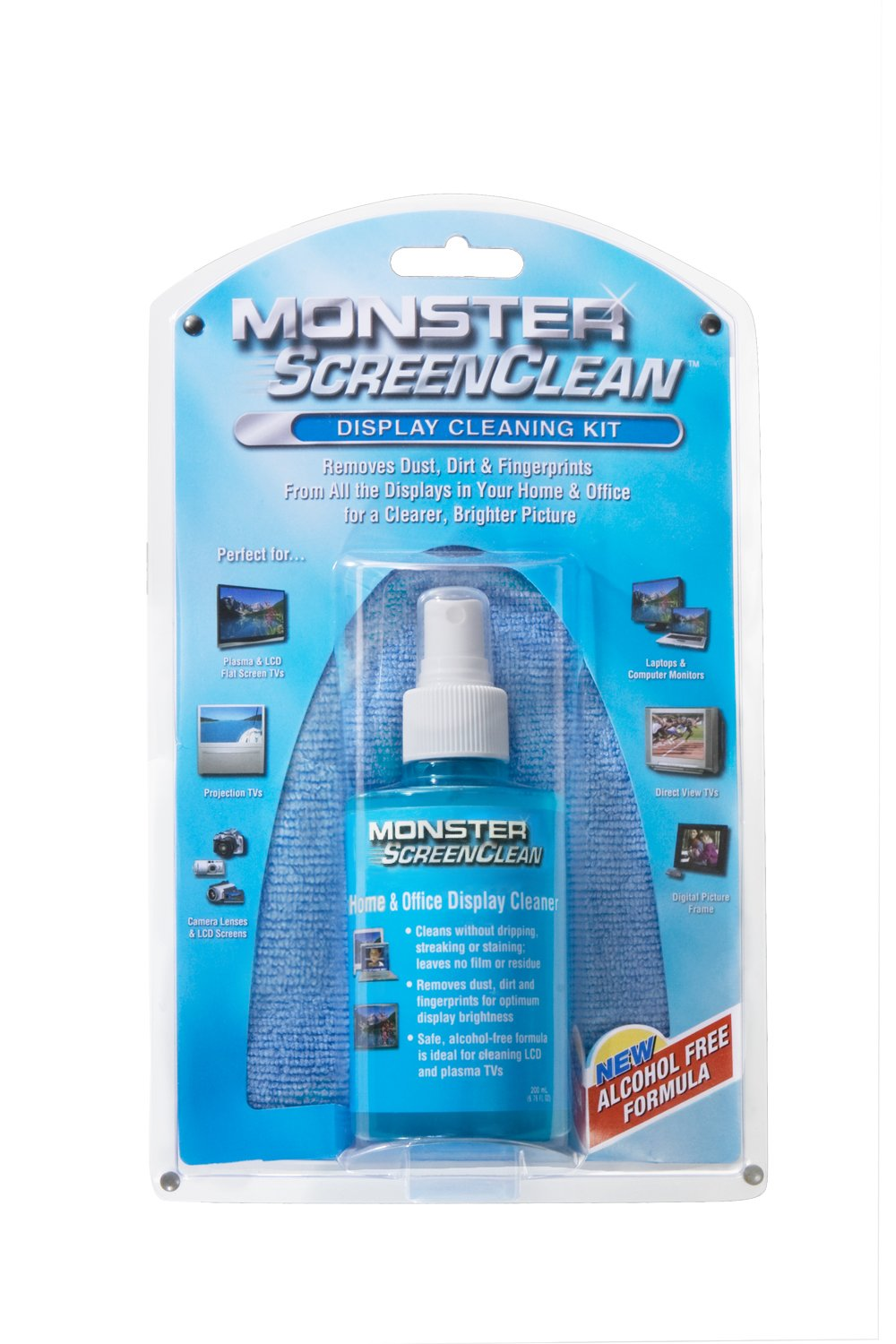 breast monitor screen cleaner