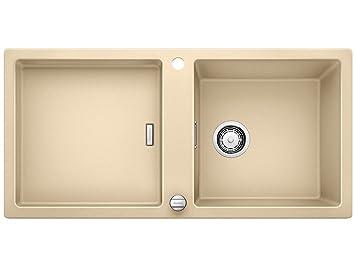 blanco adon xl 6 s champagner einbau sp le granit k chensp le beige auflagesp le dc18. Black Bedroom Furniture Sets. Home Design Ideas