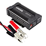 Power Inverter Converter,Upeor 800W 12V DC to 110V AC Modified Sine Wave Car Power Inverter Converter with Alligator Clips Cable (Color: 800W, Tamaño: 800W)