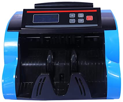 HI TECH ELECTRONICS PX 301 Currency Counting Machine with Fake Note Detector  36 cms x 30 cms x 24.2 cms  available at Amazon for Rs.4800