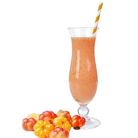 Skandinavische Fruchte Geschmack Eiweißpulver Milch Proteinpulver Whey Protein Eiweiß L-Carnitin angereichert Eiweißkonzentrat fur Proteinshakes Eiweißshakes Aspartamfrei (10 kg)