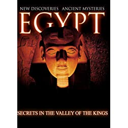 Egypt New Discoveries  Secrets In The Valley of The Kings [Blu-ray]