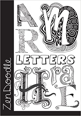 ZenDoodle Letters: Learn the Art of Creative Lettering