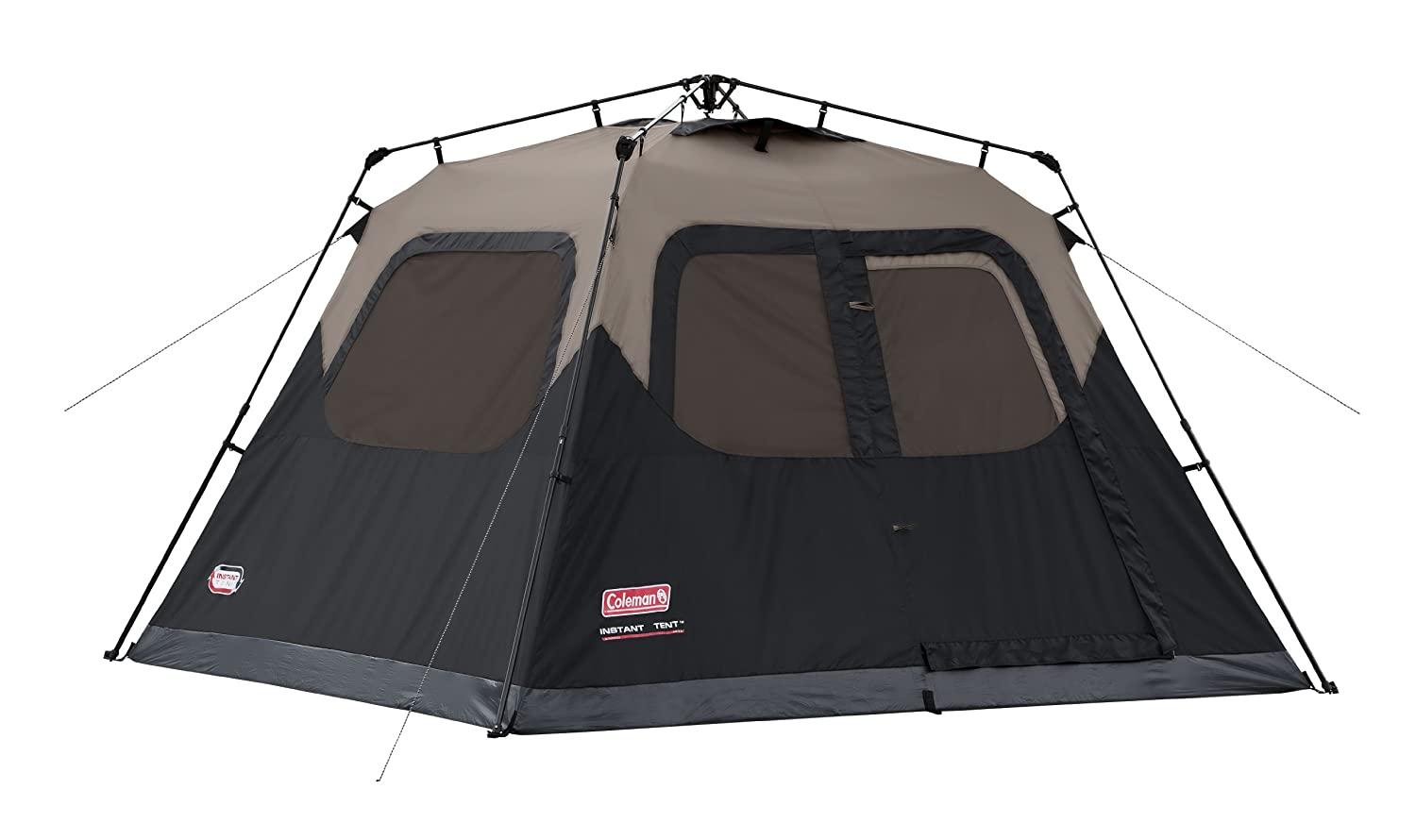 Coleman 6 Person Instant Tent : Top best family camping tents for sale in reviews