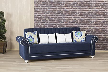 Royal Home Sofa Bed | Riva Dark Blue