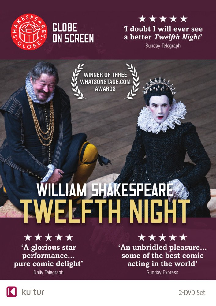 Twelfth Night starring Mark Rylance & Stephen Fry