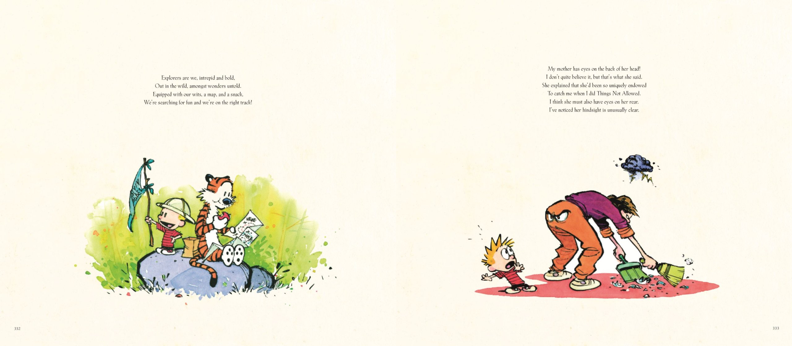 Calvin and Hobbes: poems and watercolour paintings