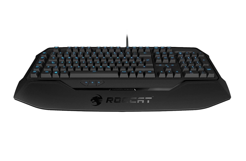 ROCCAT Ryos MK Glow Illuminated Mechanical Gaming Keyboard Cherry MX Key Switch - Black (ROC-12-751-BK)
