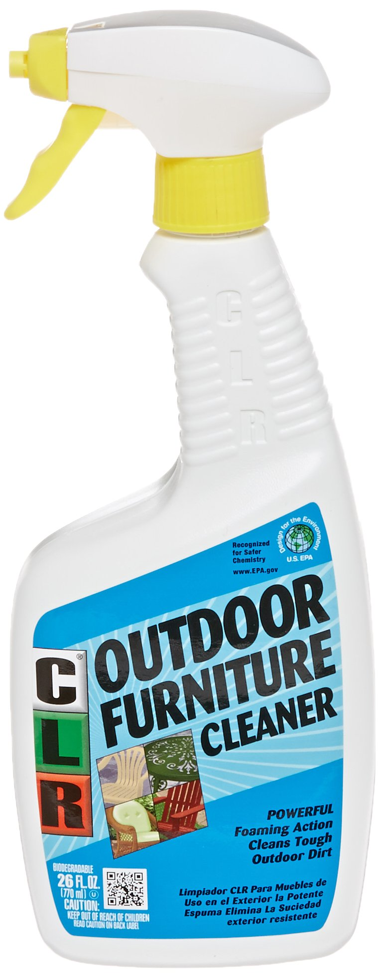 Product features for Outdoor furniture cleaner