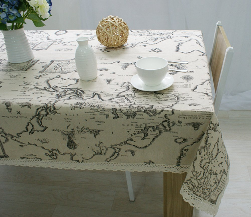Christmas Oval Tablecloth