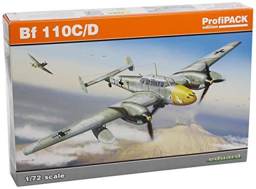 EDK7081 Eduard Profipack 1:72 - Bf 110 C/D