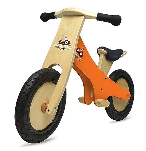 Kinderfeets - 86642 - Classic - Vélo Draisienne - Tableau À Craie - Orange