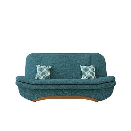 Sofa Weronika Evo mit Bettkasten und Schlaffunktion, Schlafsofa, Farbauswahl, Couch vom Hersteller, Wohnlandschaft (Lux 30 + Evo 30)