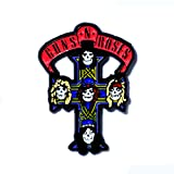 Guns N Roses Collectible Pendant Lapel Hat Pin (Color: Red, Tamaño: 1.5