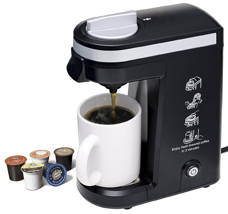 Aicok K-cup Coffeemaker Compact Single Serve Coffee Brewer