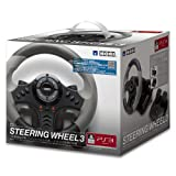 HORI steering wheel 3 SCE official licensed product For PlayStation 3