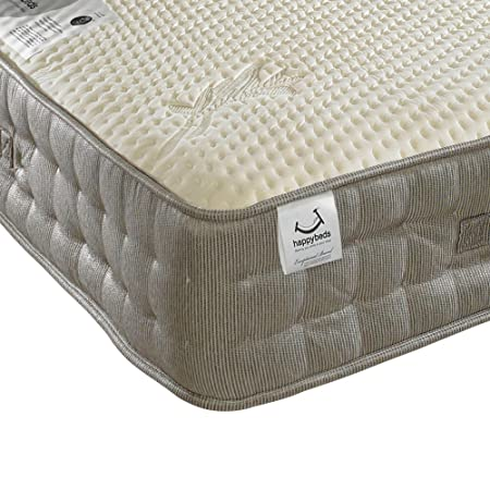 Happy Beds Bamboo Vitality 2000 Pocket Sprung Reflex Memory Foam Mattress - Single