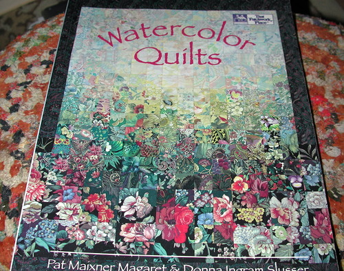 Book Cover Watercolor Quilt : Watercolor quilts pat maixner magaret barbara weiland