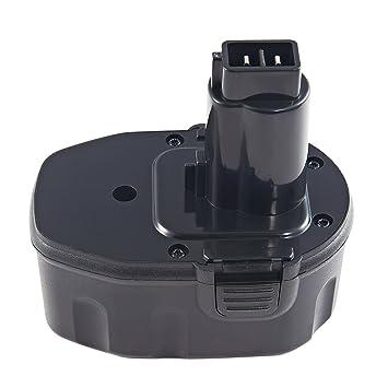 Outil Batterie pile accu 14.4 V 1500 mAh noir pour DEWALT dc835kb
