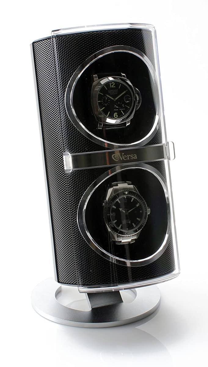 Versa Duo Double Watch Winder in Black