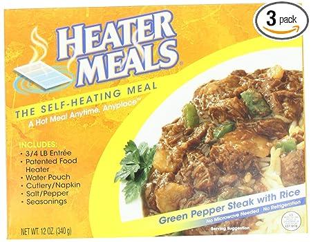 Heater Meals 3 Heater Meals Green Pepper