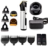Hair Clippers,Bienna Haircut Kit Professional Electric Rechargeable [Cordless & Corded] [Waterproof Head] Hair Cutting Cutter Trimmer Machine Grooming Set With 4 Hair & 3 Sideburn Guide Combs for Men