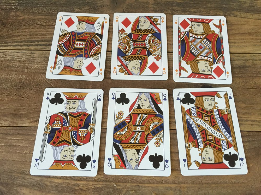 Victor E. Mauger 1876 Mauger Centennial Exposition Replica Playing Cards 3