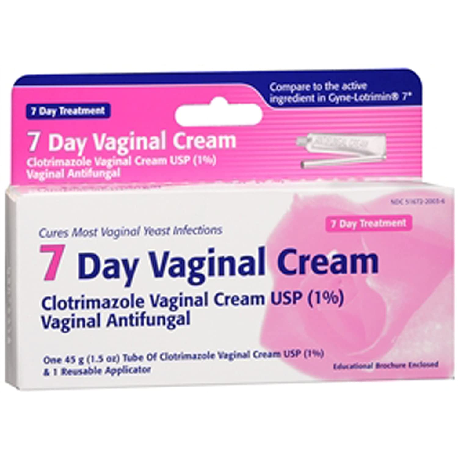 Vaginal thrush remedy cream