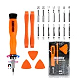PC Tool Kit, Jakemy Ratchet Repair Screwdriver Set, Torx screwdriver 20 in 1 for iPhone X, iPhone 8/8 Plus/7/7 Plus/6/6 Plus/6S/5/5C/5S/4/4S/iPad 4/3/