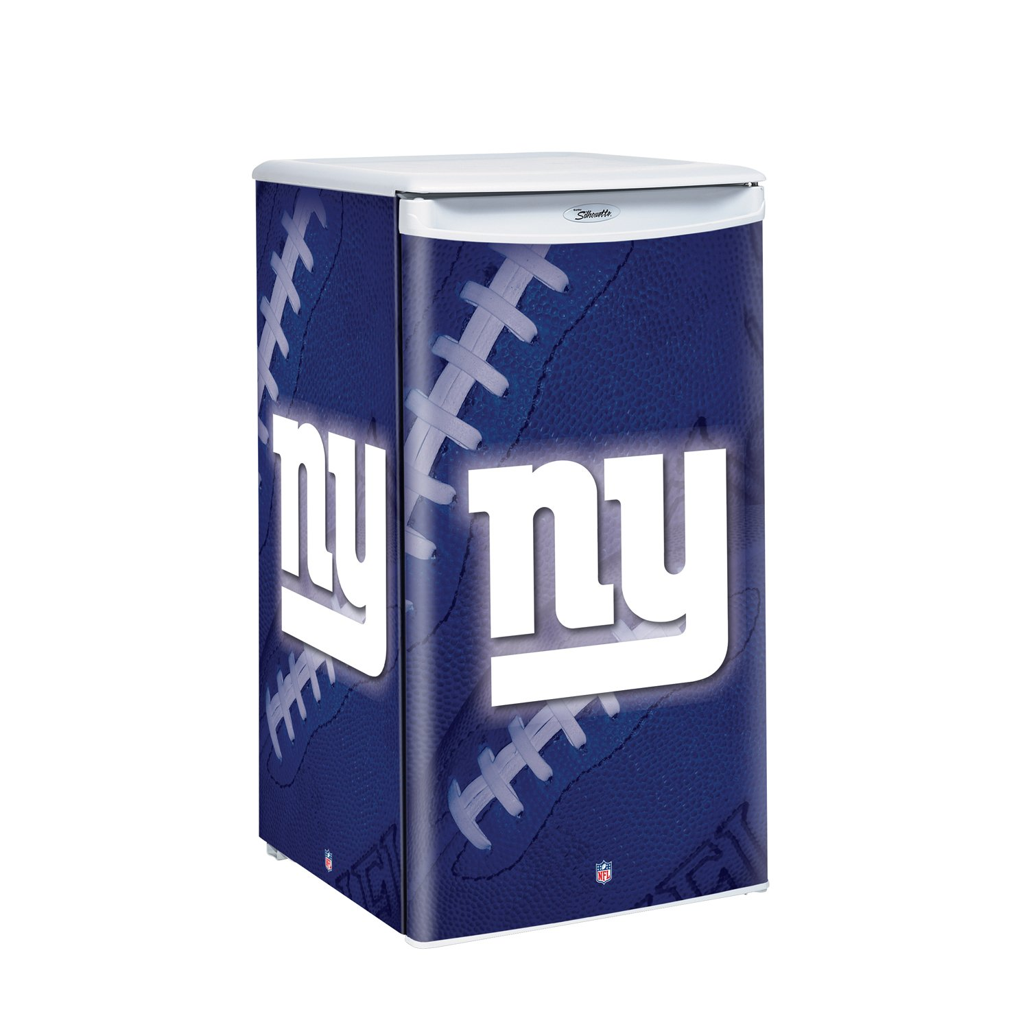 nfl new york giants counter top refrigerator