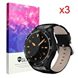 For Diggro DI05 Smartwatch Screen Protector, Lamshaw 9H Tempered Glass Screen Protector for Diggro DI05 Smartwatch (3 Pack) (Color: 3 Pack)