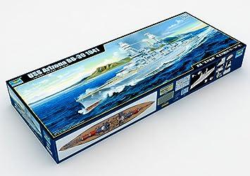 Trumpeter 03701Modélisme Jeu de l'USS Arizona BB 39