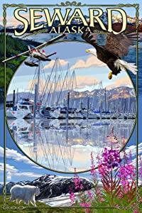 Seward, Alaska Travel Poster