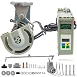 Mophorn Sewing Machine Motor 220V 550W Brushless Energy Saving Servo Motor 4500RPM with Needle Positioner (Tamaño: F550W 220V with Positioner)