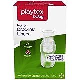 Playtex Nurser Liners, 4oz - 100ct (Tamaño: 4 Ounce - 100 Count)