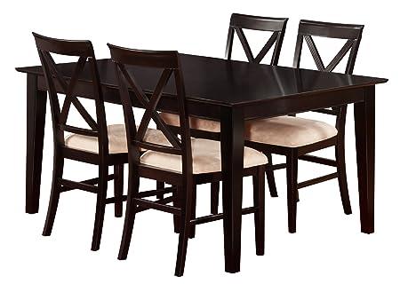 Shaker Butterfly Dining Set, 42 x 60 inch, Espresso