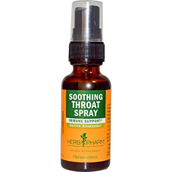 Herb pharm soothing throat spray herbal for Fish mox amazon