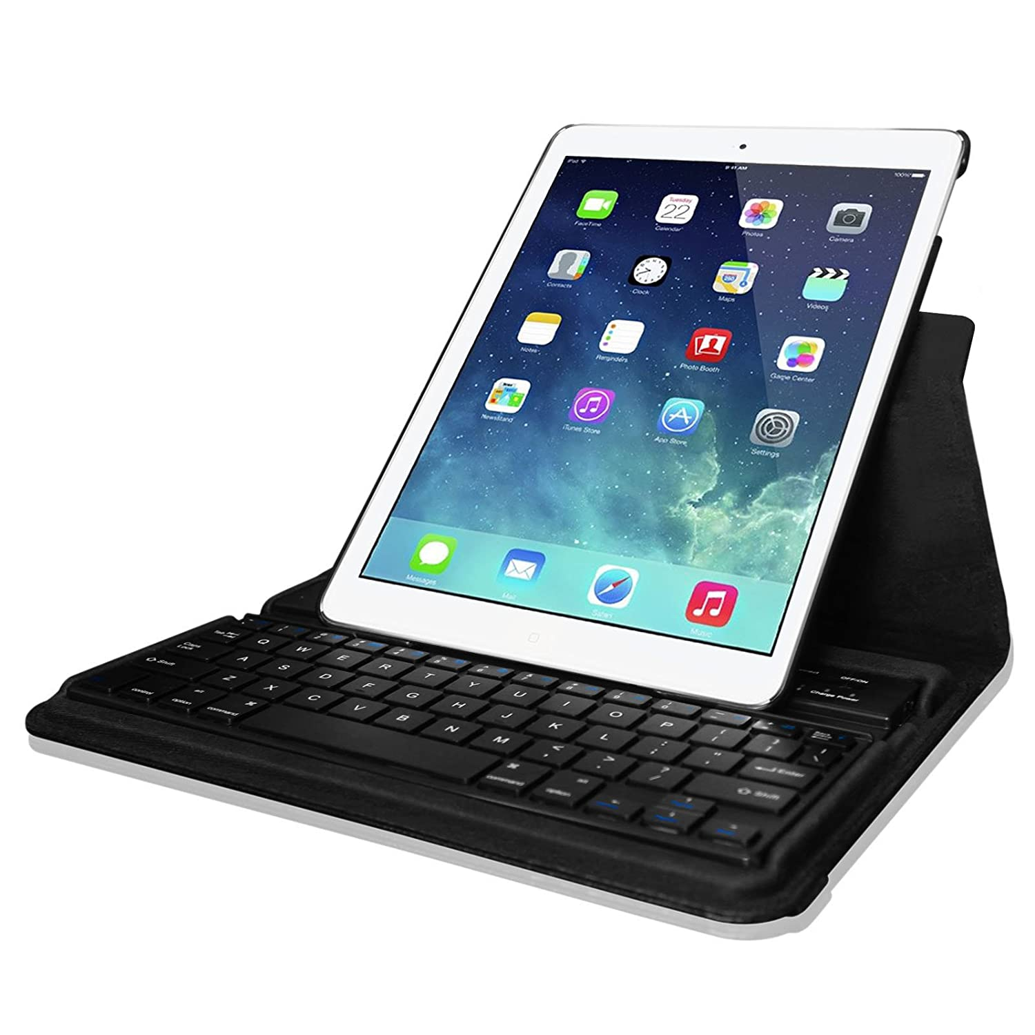 Leather Case Cover + Bluetooth Keyboard For Apple iPad 2/3 ...
