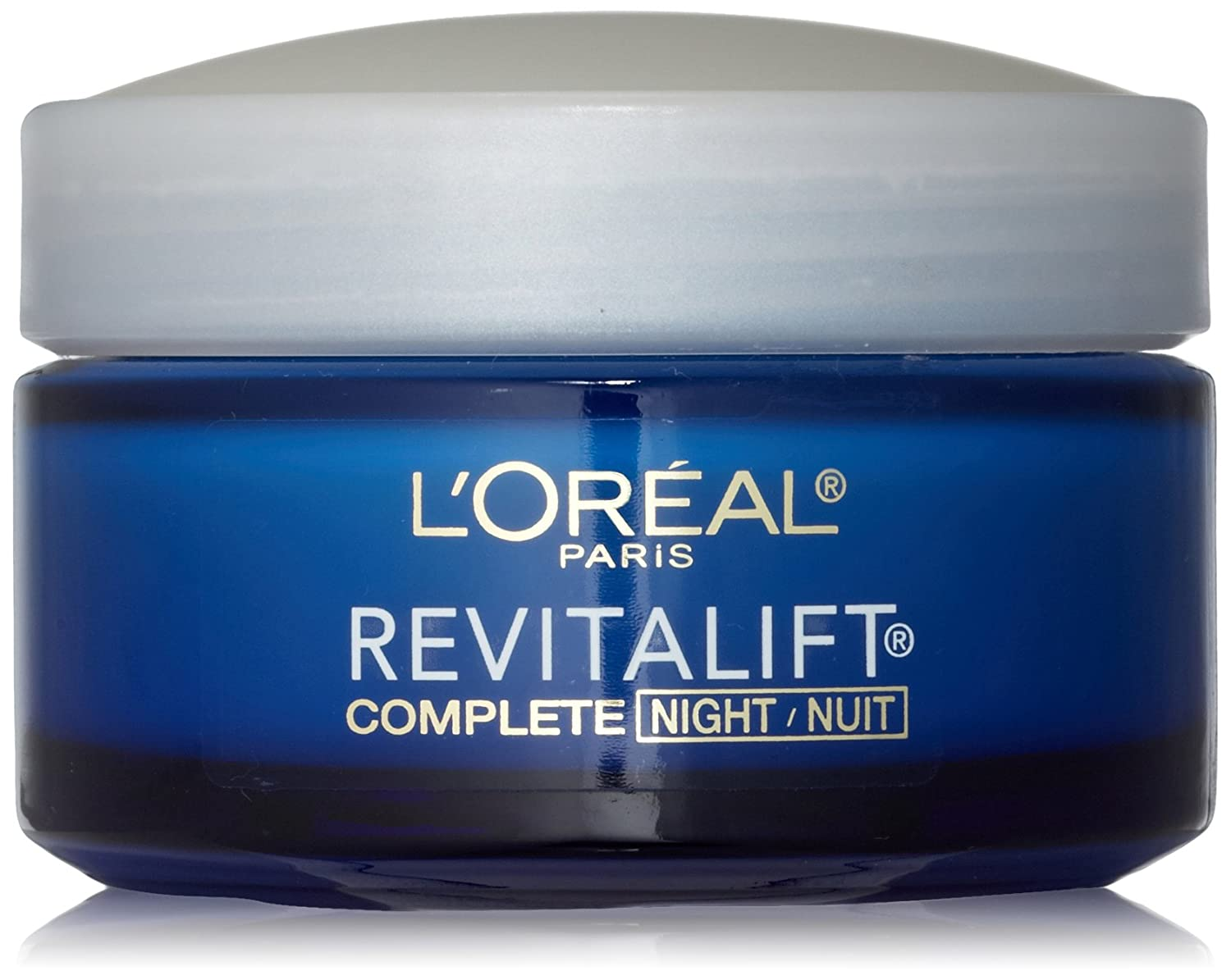 Revitalift L'Oreal Paris Anti-Wrinkle + Firming Night Cream, 1.7 ...