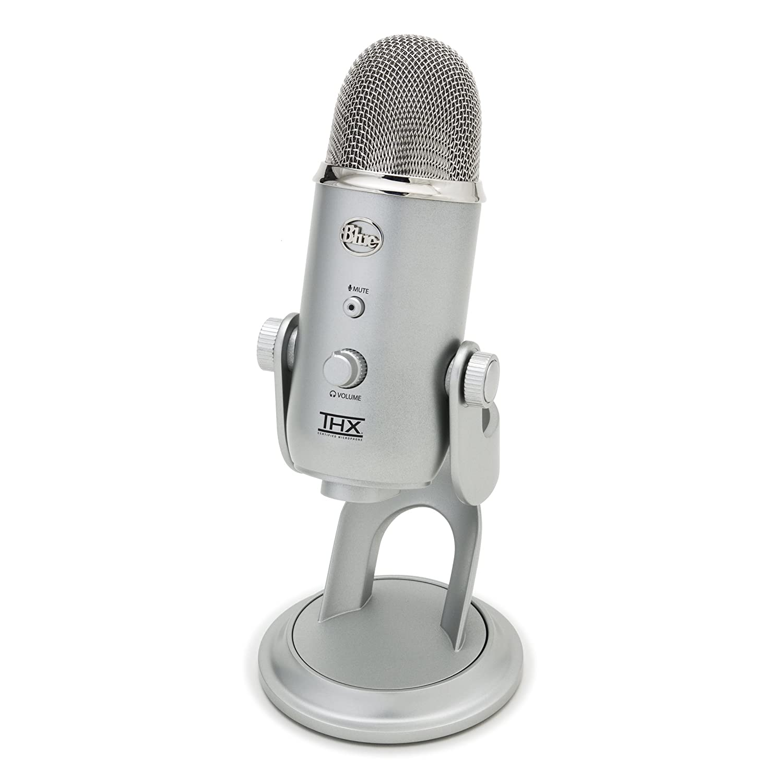 Studio Blue Yeti Usb Microphone Professional Mic Ebay
